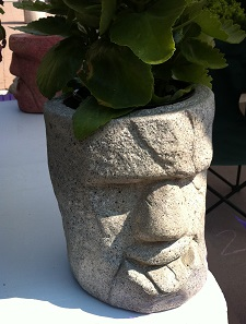 Garden Statue With Tongue Sticking Out